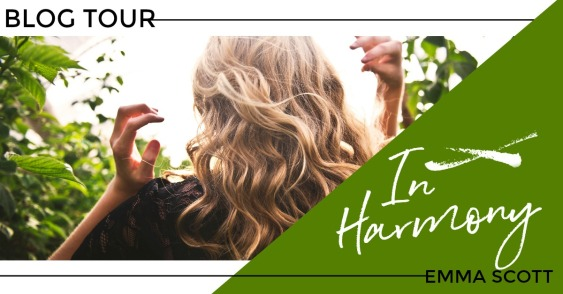 In Harmony Blog Tour Banner